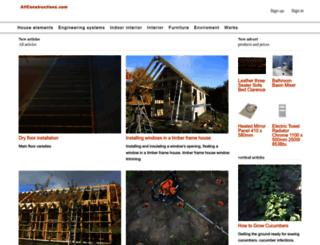allconstructions.com screenshot