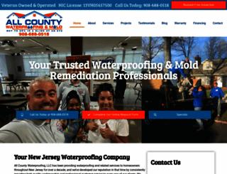 allcountywaterproofing.com screenshot
