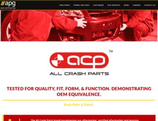 allcrashparts.com.au screenshot