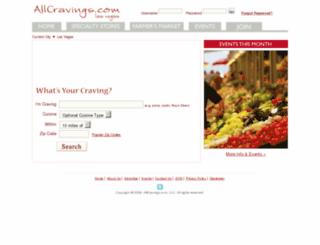 allcravings.com screenshot