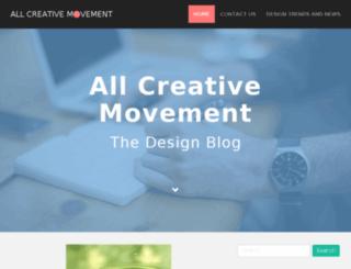allcreativemovement.com screenshot