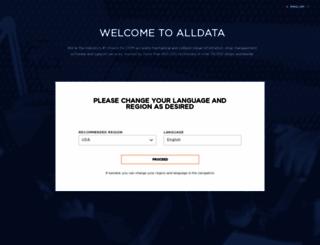 alldata.com screenshot