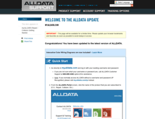 alldatapro.com screenshot