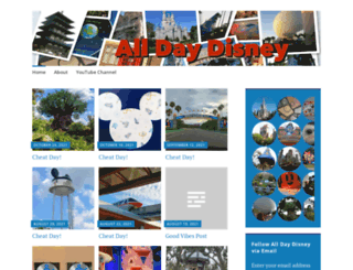 alldaydisney.wordpress.com screenshot