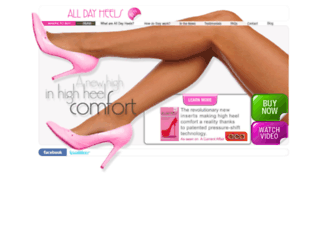 alldayheels.com.au screenshot