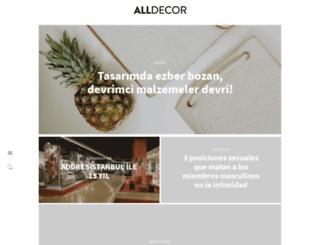 alldecor.com.tr screenshot