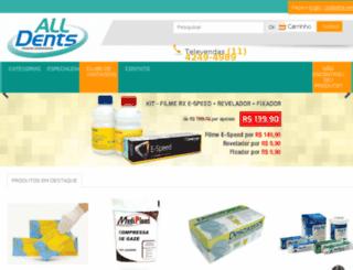 alldents.com.br screenshot