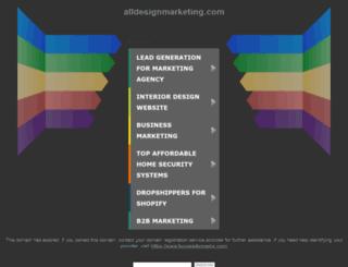 alldesignmarketing.com screenshot