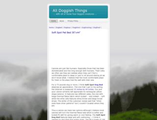 alldoggishthings.blogspot.com screenshot
