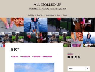 alldolledupblog.com screenshot