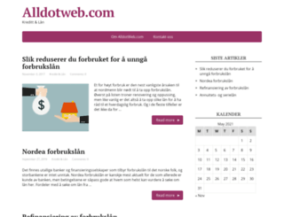 alldotweb.com screenshot