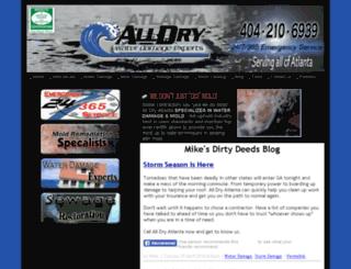alldryatlanta.com screenshot