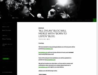 alldylan.com screenshot