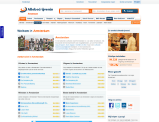 allebedrijveninamsterdam.nl screenshot