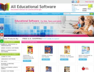 alleducationalsoftware.com screenshot