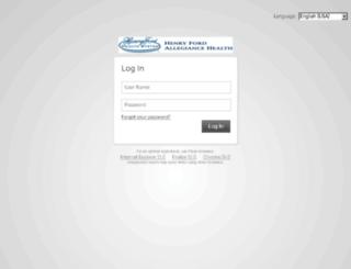 allegianceselfservice.com screenshot