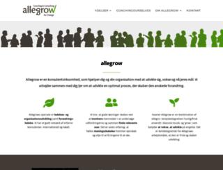 allegrowforchange.com screenshot