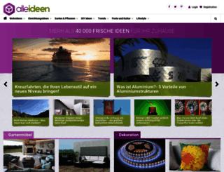 alleideen.com screenshot