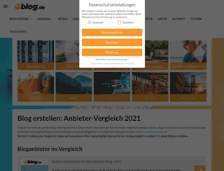 allelkw.blog.de screenshot