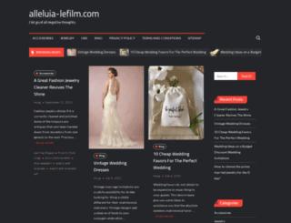 alleluia-lefilm.com screenshot