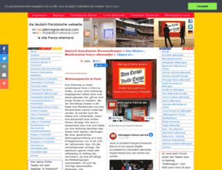 allemagne-service.com screenshot