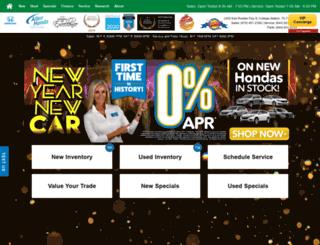 allenhonda.com screenshot