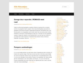 allenieuwtjes.nl screenshot