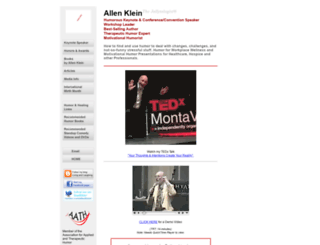 allenklein.com screenshot