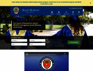 allenschool.edu screenshot