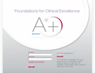 allerganclinicalfoundations.com.au screenshot