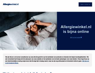 allergiewinkel.nl screenshot