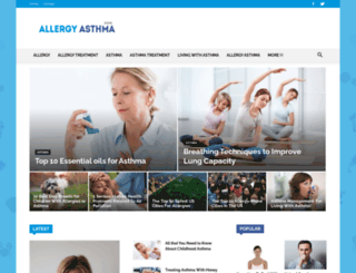 allergyasthmazone.com screenshot