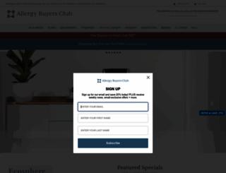 allergybuyersclub.com screenshot