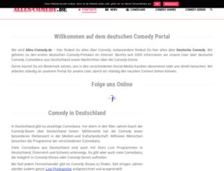 alles-comedy.de screenshot