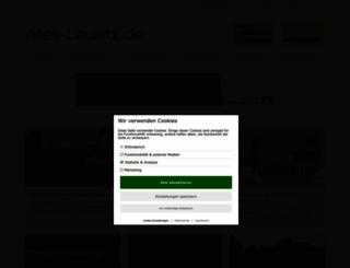 alles-lausitz.de screenshot