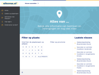 allesvan.nl screenshot