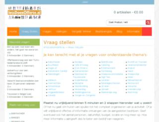 allesvoorjehuis.nl screenshot