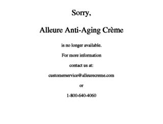 alleureblackdiamond.com screenshot