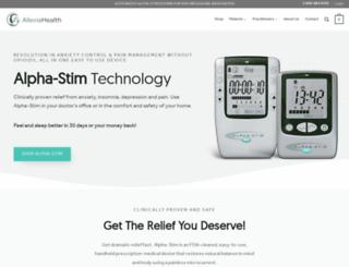 alleviahealth.com screenshot