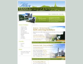 allezfrance.com screenshot