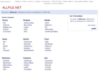 allfile.net screenshot