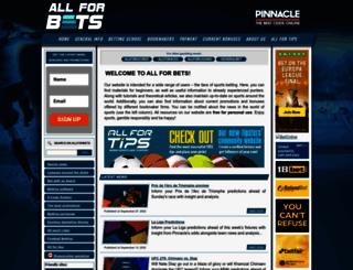 allforbets.com screenshot