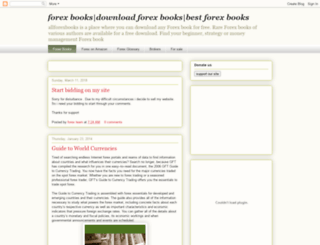 allforexbooks.com screenshot