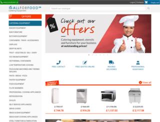 allforfood.co.uk screenshot