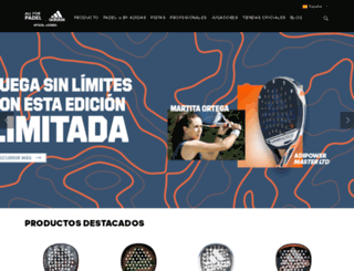 allforpadel.com screenshot