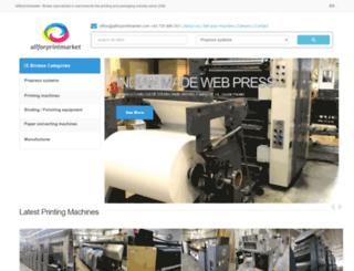 Access allforprintmarket com  Used printing machines, used