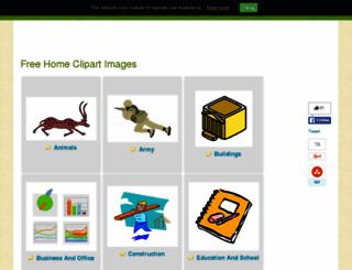 allfreeclipart.com screenshot