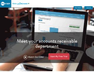 allfreelance.billingorchard.com screenshot