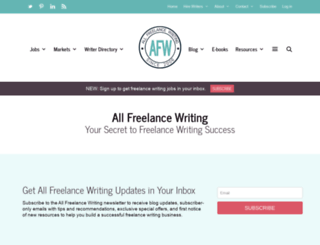 allfreelancing.com screenshot