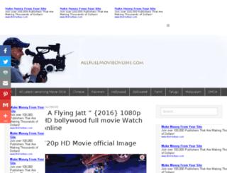 allfullmovieonline.com screenshot